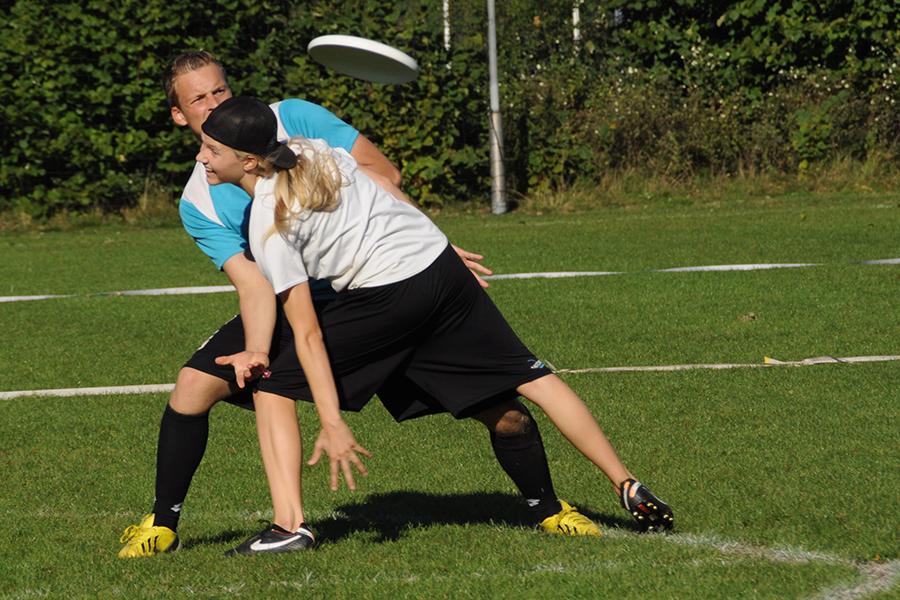 Frisbeesport - spelen om te winnen