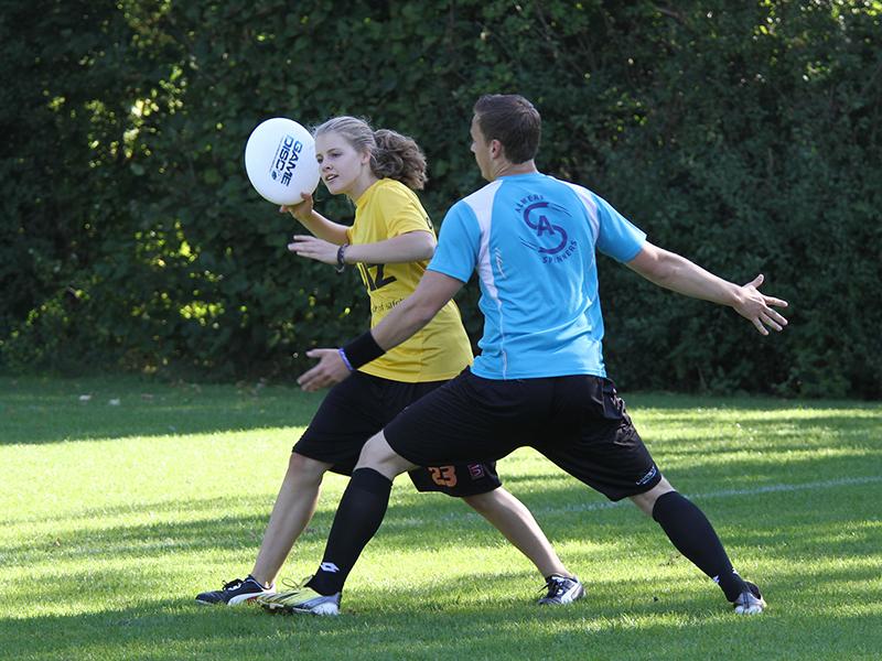 Frisbee op school - sportklas
