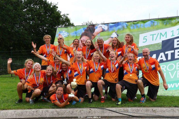 U20 dames derde op sterk bezet TT